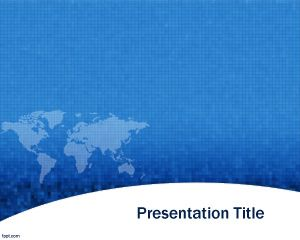 Information Exchange PowerPoint Template PPT Template