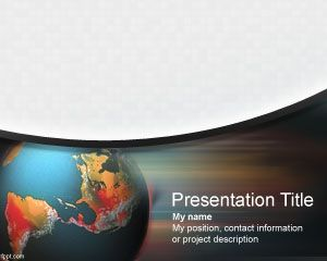 International Crisis Management PowerPoint PPT Template