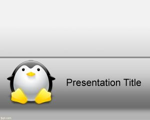 Linux PowerPoint Template PPT Template