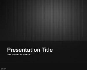 Metallic Design PowerPoint Template PPT Template