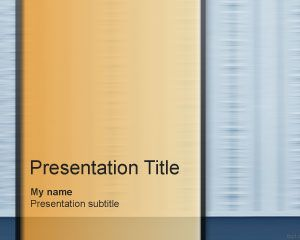 Mocking PowerPoint Template PPT Template