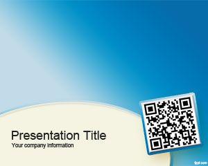 QR code PowerPoint Template PPT Template