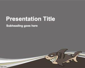 Plantilla PowerPoint de Tuburón