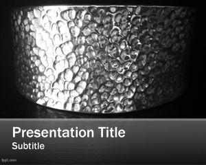 Silver PowerPoint Template PPT Template