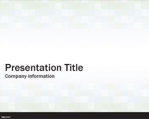 Simple Cubes PowerPoint Template PPT Template