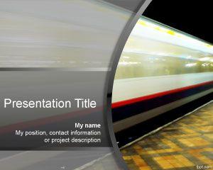 Plantilla PowerPoint de Velocidad PPT Template