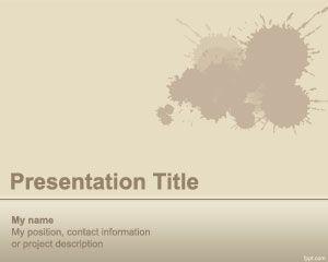 Splash PowerPoint Template PPT Template