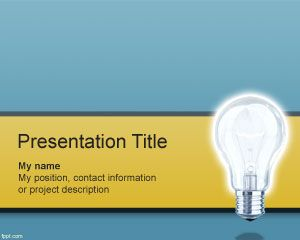 Thinking PowerPoint Template PPT Template