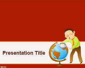 Traveller PowerPoint Template PPT Template