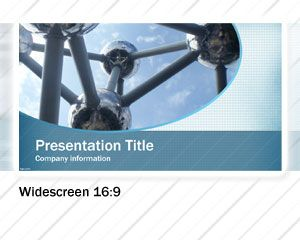 Widescreen Business PowerPoint Template PPT Template