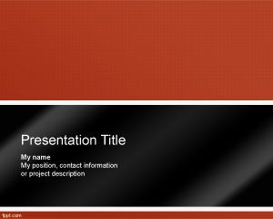 Behavior Recognition PowerPoint Template PPT Template
