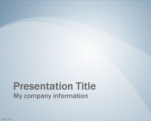 Blue Professional Slide PowerPoint PPT Template