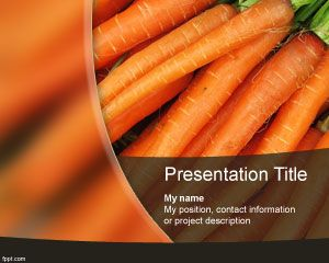 Carrots PowerPoint Template