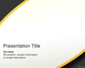 Gray Modern PowerPoint Template