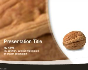 Walnut PowerPoint Template