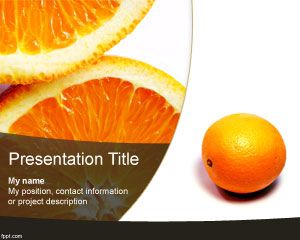 Orange PowerPoint Template PPT Template