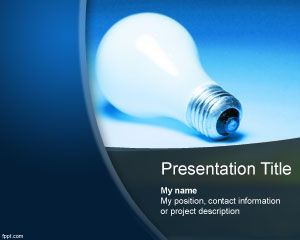 Project idea PowerPoint Template PPT Template