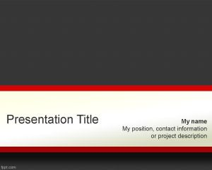 Sturdy PowerPoint Template