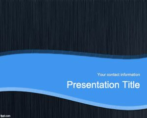 Blue litespeed PowerPoint Template