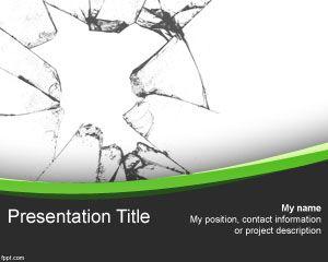 Free Broken Glass effect for PowerPoint