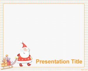 Christmas Gifts PowerPoint Template PPT Template