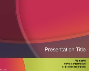 Color Mix PowerPoint Template