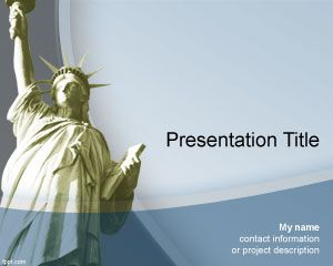 Flags free powerpoint templates template for presentations in microsoft power point about new york but also about liberty topics this free liberty powerpoint template is free and you toneelgroepblik Image collections