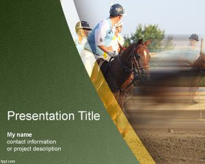Polo PowerPoint Template PPT Template