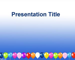 Balloons free powerpoint templates toneelgroepblik Image collections