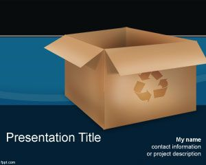 Recycle Box PowerPoint Template