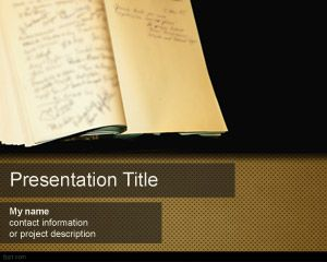 Guestbook PowerPoint Template