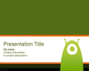 Extraterrestrial PowerPoint Template