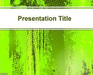 Bright green powerpoint background