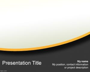 Business Model PowerPoint Template PPT Template