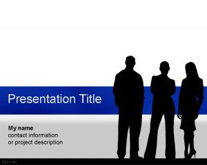 Link toBusinessmen powerpoint template