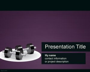 weights PowerPoint template