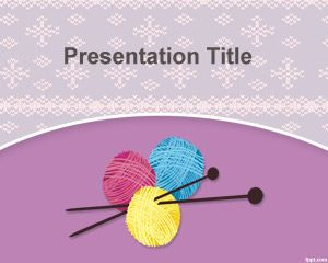 Knit PowerPoint Template