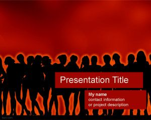 Ladies Night PowerPoint Template PPT Template