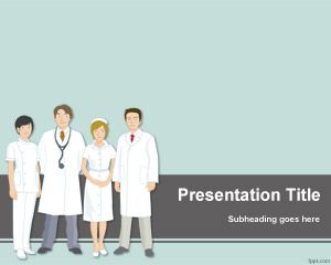 Medical Team PowerPoint Template PPT Template