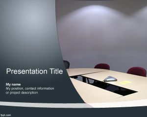 Link toMeeting room powerpoint template
