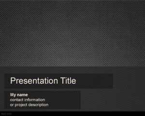 Metallic Powerpoint Template