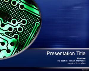 Microchip PowerPoint Template PPT Template