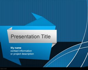 Origami PowerPoint Template
