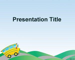 preschool powerpoint template