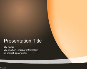 Selected PowerPoint Template PPT Template
