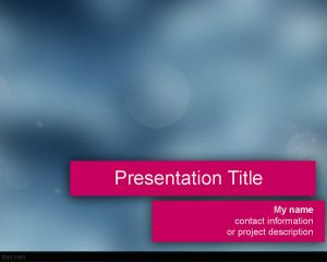 Spashy PowerPoint Template PPT Template