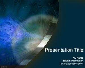 Supernova PowerPoint Template