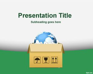 Link toSupply chain powerpoint template