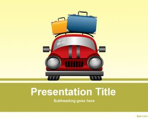 Transportation free powerpoint templates great for presentations on vacation on luggage costs and transporatation you can download this free ppt template file for toneelgroepblik Images