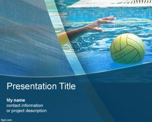 Powerpoint presentation templates for olympic games london 2012 water polo powerpoint template olympic games london 2012 toneelgroepblik Image collections